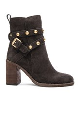 See By Chloe Suede Janis Boots In Gray