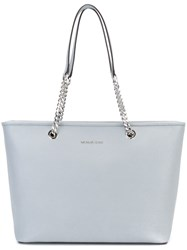 Michael Michael Kors 'Jet Set Travel' Chain Tote Blue