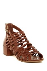 Bcbgeneration Ralston Strappy Heeled Sandal Brown