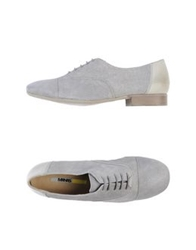 Manas Lea Foscati Lace Up Shoes Grey