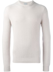 Malo Crew Neck Jumper Nude Neutrals
