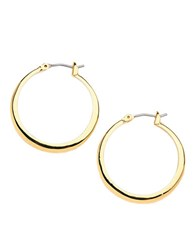 Kenneth Cole Small Hoop Earrings Yellow