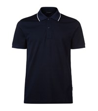 Tiger Of Sweden Ecole Tipped Polo Shirt Male Navy