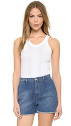 Edith A. Miller Old Fashioned Soft Soul Tank White