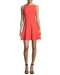 Elizabeth And James Hollis Sleeveless Fit Flare Dress Melon