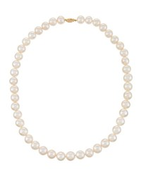 Belpearl White Cultured Pearl Necklace