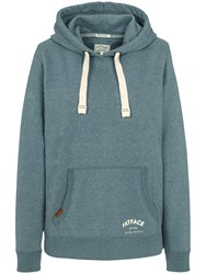Fat Face Heritage Graphic Hoodie Steel