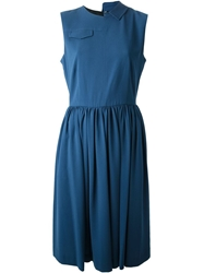 Marc By Marc Jacobs 'Yumi' Crepe Dress Blue