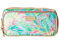 Lilly Pulitzer Make It Cosmetic Case Tropical Pink Tropical Storm Cosmetic Case Blue
