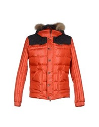 Ice Iceberg Down Jackets Orange