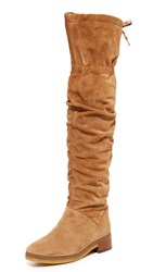 See By Chloe Jona Tall Over The Knee Boots Stucco