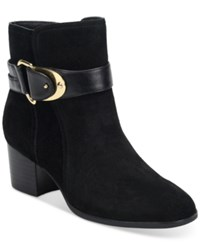 Sofft Nadra Buckle Booties Women's Shoes Black
