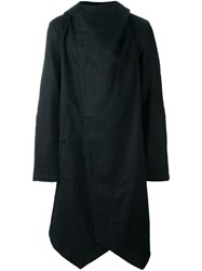 Lost And Found Ria Dunn Loose Fit Hooded Coat Black