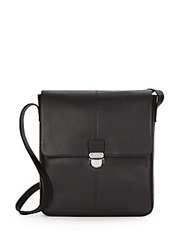 Cole Haan Leather Shoulder Bag Chocolate