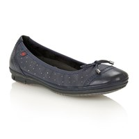 Lotus Lona Court Shoes Navy