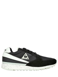Le Coq Sportif Eclat Glow In The Dark Suede Sneakers Black