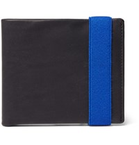 Berluti Figure 12 Leather Billfold Wallet Navy