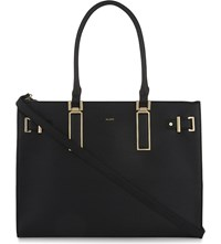Aldo Izabelle Faux Leather Tote Black