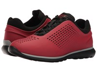 Z Zegna Sprinter 300 Sneaker Red Men's Lace Up Casual Shoes