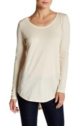 Abound Long Sleeve Basic Tee Beige