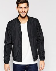 Only And Sons Bomber Jacket Black