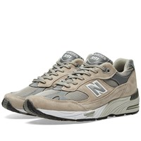 New Balance M991gl Made In England Grey