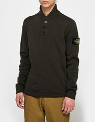 Stone Island Sweater Military Green