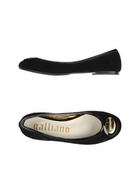 Galliano Footwear Ballet Flats Women Black