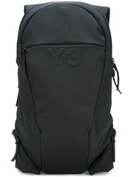 Y 3 Structured Backpack Black