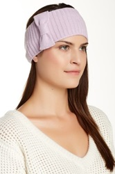 Portolano Minerva Bow Headband Purple