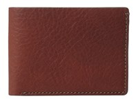 Bosca Washed Collection Small Billfold Coganc Wallet Handbags Brown