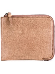 'Wall' Wallet Brown