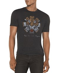 John Varvatos Star Usa Red Hot Chili Peppers Tiger Graphic Tee Charcoal Heather