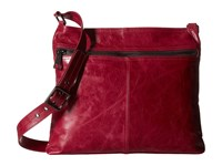 Hobo Lorna Red Plum Cross Body Handbags