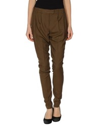 True Royal Casual Pants Dark Brown