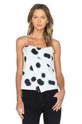 Marc By Marc Jacobs Blurred Dot Tank Blue