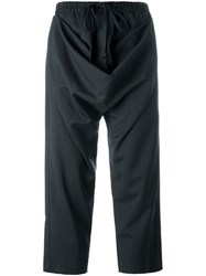 Vivienne Westwood Red Label Cropped Trousers Blue