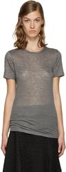 Isabel Marant Grey Madras T Shirt