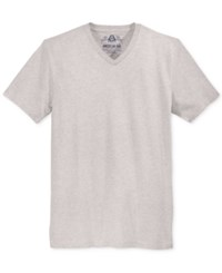American Rag Men's V Neck T Shirt Only At Macy's Heather Grey