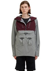 7L Hard Shell Layer Hooded Jacket Grey