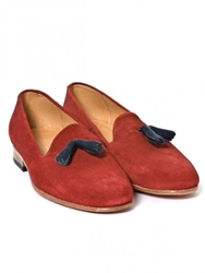 Dieppa Restrepo Gaston Red Suede At Gargyle