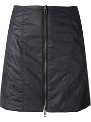 Y Project Front Zip Skirt Black