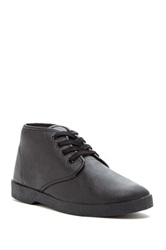 Zig Zag High Top Oxford Black