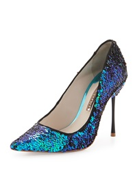 Coco Iridescent Sequin Pump Multi Sophia Webster