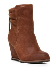 Dr. Scholls Ireland Suede Ankle Boots Brown