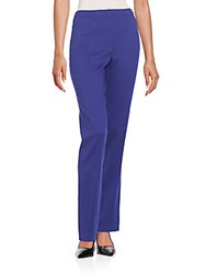 Escada Tovah Stretch Wool Pants Medium Blue
