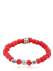 Cantini Mc Firenze Buddha Red Bracelet