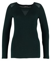 Naf Naf Long Sleeved Top Jasper Green