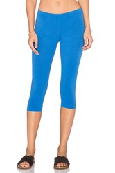 Bobi Cotton Lycra Legging Blue