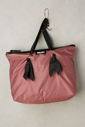 Anthropologie Gweneth Bow Shopper Bag Rose